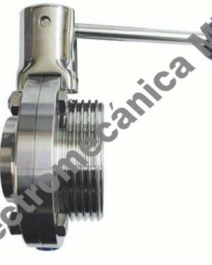 Válvula Mariposa Extremo Roscado / Soldar 1 1/2″ DN 40 – Genebre – Artículo 2942E