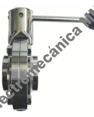 Válvula Mariposa Extremos Soldar / Soldar Inoxidable 1 1/2″ – Genebre – Artículo 2943